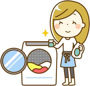 スーツの洗濯2
