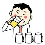 お酒を飲むと顔が赤くなってしまう!原因とその対処法!